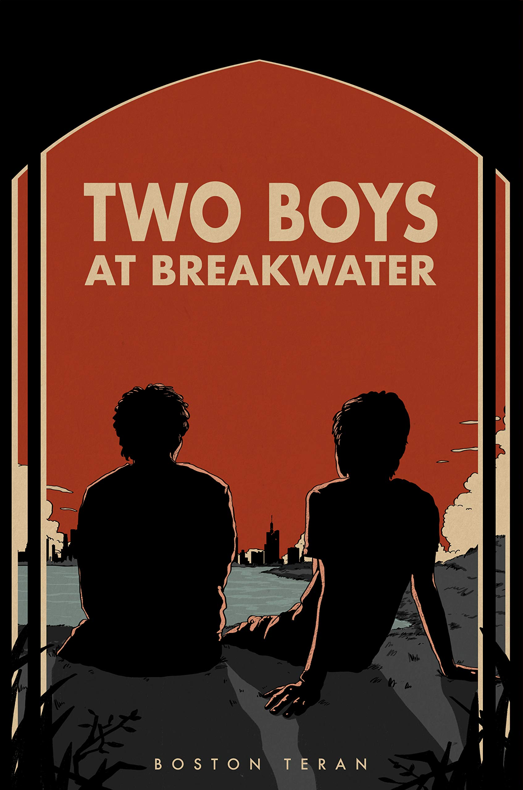 Two Boys at Breakwater