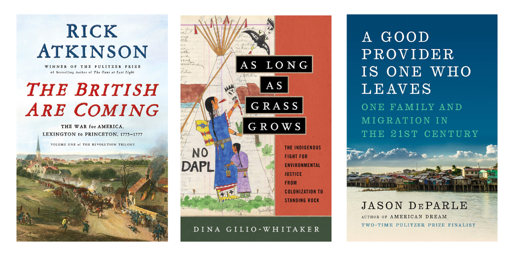 Examining the American Revolution, the Fight for Environmental Justice, & Migration in the 21st  Century: Academic Best Sellers in U.S. History