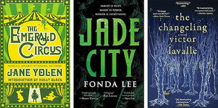 The Changeling, Jade City Tie for World Fantasy's Best Novel